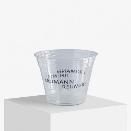 Plastikbecher mit eigenem Logo