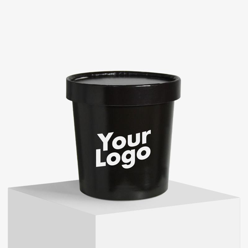 Lebensmittelbecher mit deinem Logo