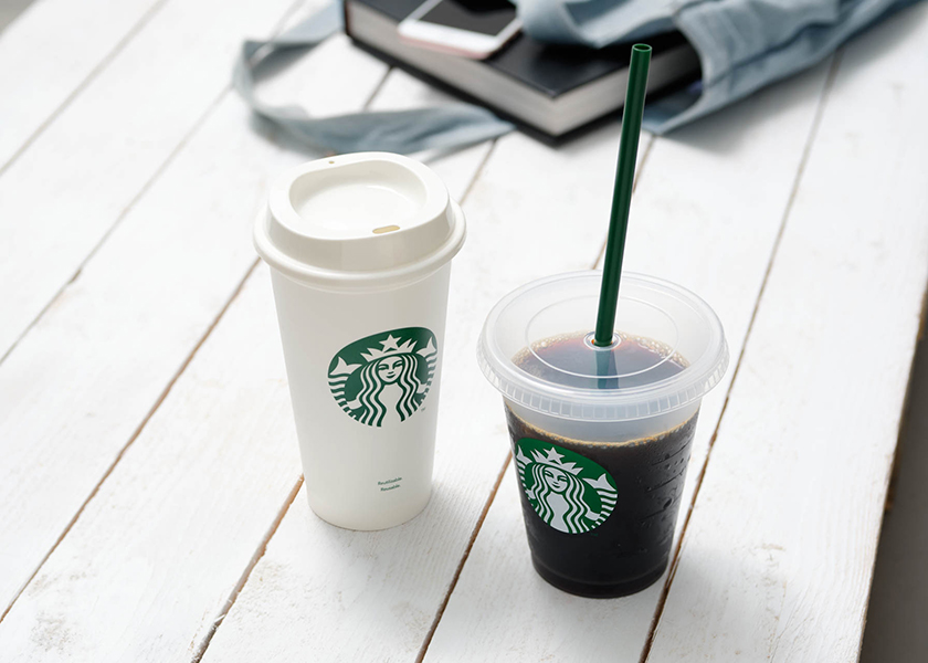 starbucks reuseable coffee cup