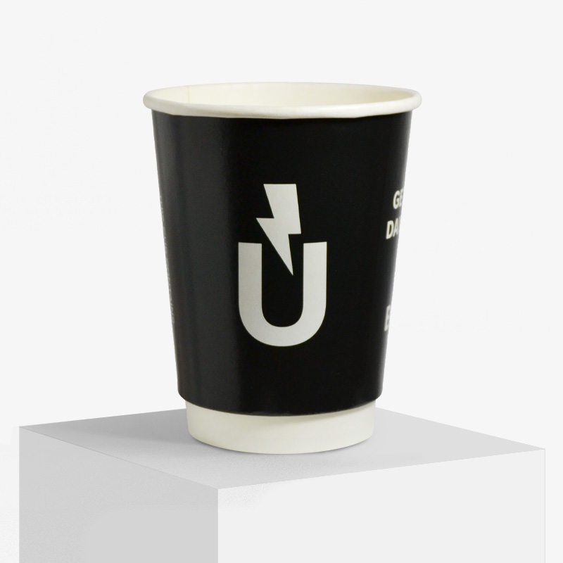 Double wall paper cup design